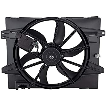 Image of Fans BOXI Radiator Cooling Fan Assembly for 2005-2011 Lincoln Town Car / 2006-2011 Ford Crown Victoria / 2006-2011 Mercury Grand Marquis (ONLY fits 4.6L V8) Replaces 6W1Z8C607A 621-353 621380CU