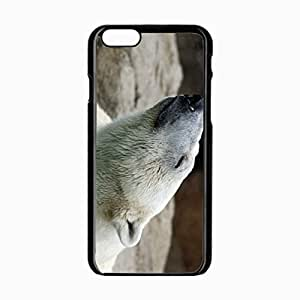 iPhone 6 Black Hardshell Case 4.7inch polar pose Desin Images Protector Back Cover