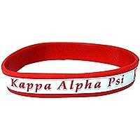 Kappa Alpha Psi G2225 NEW Silicone Bracelet Fraternity Divine Nine Greek Nupe