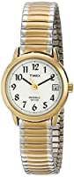 Timex Women's T2H491 Easy Reader Two-Ton...