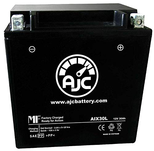 (Bombardier Elite Snowmobile Replacement Battery (2004-2006) - This is an AJC Brand Replacement)