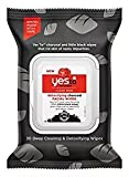 yes to tomatoes face - Yes to Tomatoes Detoxifying Charcoal Facial Wipes 30 Count per Pack (2 Pack)