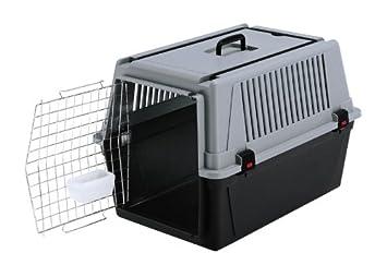 Feplast 73011021 Transportín para Perros de Talla Media Atlas 40 Professional, Puerta de Acero Plastificado