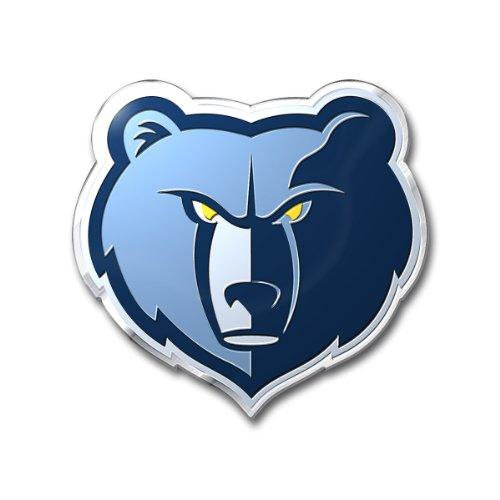 NBA Memphis Grizzlies Color Auto Emblem, One Size, One -