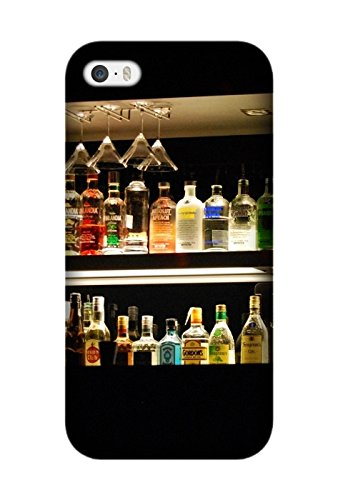 Food Liquor Pattern Customize for Iphone 5/5S Protective Case