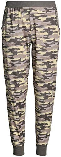 Only Girls Butter-Soft-Touch Yummy Athletic Jogger Sweatpants, Army Camo, Size Medium / 8-10' ()