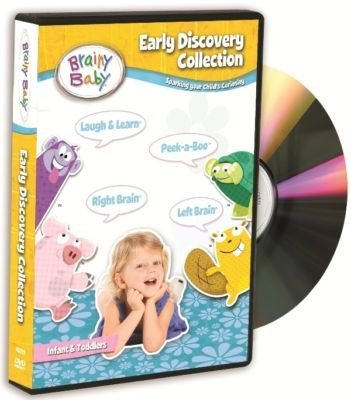 Dvd Learning Center - Brainy Baby Early Learning Collection DVD Set of 4
