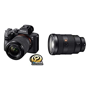 Sony a7 III Full-Frame Mirrorless Interchangeable-Lens Camera with 28-70mm Lens Optical from Sony