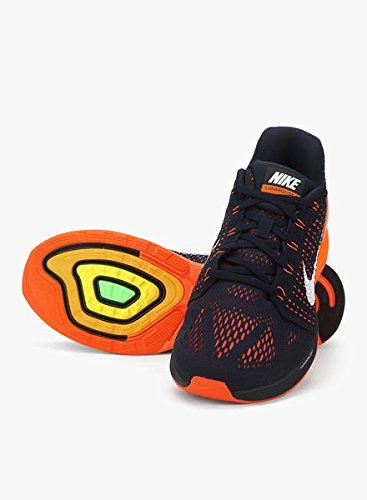 arancione Uomo Nero Lunarglide 7 Da Ginnastica Nike Scarpe