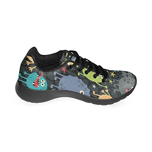 Zenzzle Zapatillas de running de Lona para mujer Negro negro Color1