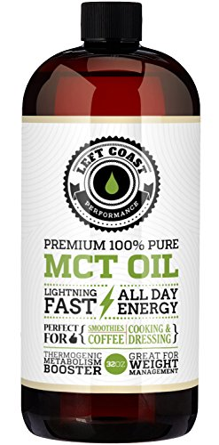 Premium Coconut MCT Oil, Huge 32 Oz. Easier To Absorb and Digest. Triple Filtered. Independent Quality Testing for every batch. Made in USA.