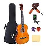 Classical Guitar 4/4 Full Size 39 inch Kids Guitar Acoustic Guitar for Beginners