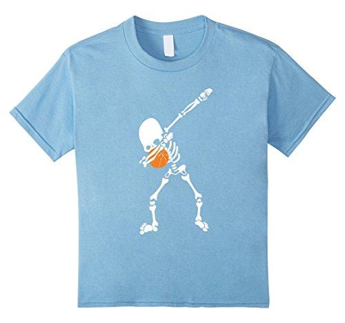 Basketball Toddler Costume Player (Kids Halloween Skeleton Basketball Funny T-shirt 4 Baby)