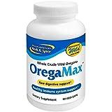North American Herb & Spice OregaMax - 90 Capsules - Wild Oregano Supplement - Digestive & Immune Support - Oregano Oil, Garl