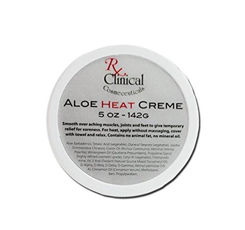 Rx cliniques cosméceutiques Aloe Heat Creme 5 oz