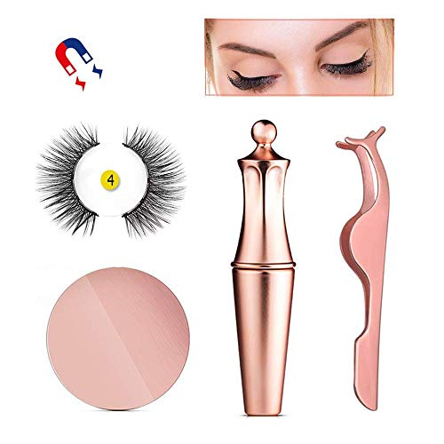 Magnetic Eyeliner Kit, Magnetic Eyeliner With Magnetic Eyelashes, Magnetic Lashliner For Use with Magnetic False Lashes (PI)