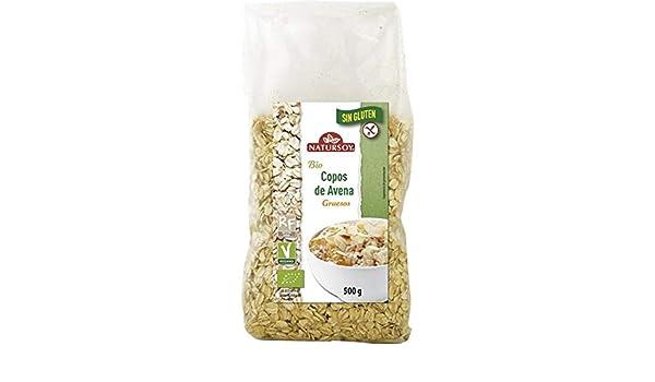 Copos avena gruesos sin gluten Natursoy 500 g: Amazon.es ...