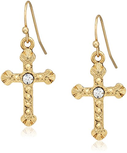 14k Gold Crystal Accent - 2