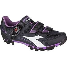 Diadora X Trivex Plus II Shoe - Women's Dk Smoke/White/Violet Orchid Iris, 40.0