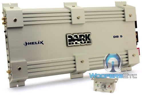 Helix Car Audio - Dark Blue 5 - Audiotec Fischer 5-Channel 1140W RMS Amplifier
