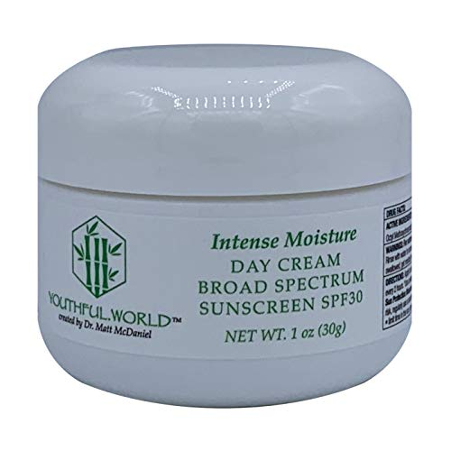 YOUTHFUL.WORLD Intense Moisture Day Cream with Broad Spectrum Sunscreen SPF30 Created by Dr. Matt McDaniel