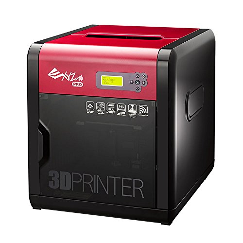 "[Open Filament] da Vinci 1.0 Pro. Wireless 3D Printer/Upgradable Laser Engraver - 7.8"" x 7.8"" x 7.8"" Built Volume (Fully Enclosed Design - ABS/PLA/Tough PLA/PETG/Hips/Wood/Antibacterial PLA)"