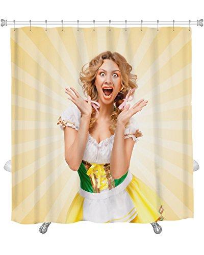 Gear New Fun at Oktoberfest Shower Curtain 74