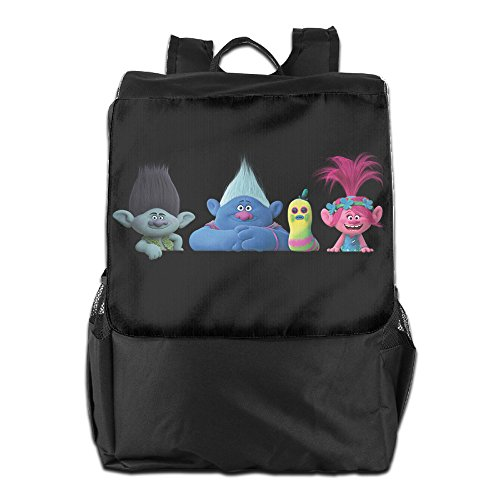 AIJFW Outdoor Travel Bag - Trolls Elf Unisex Backpack Daypack Bookbags Rucksack Gym Bag