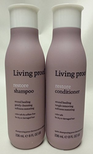 Brand New Living Proof 8.0 oz Restore Shampoo and Conditional Combo Professional