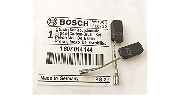 Original Bosch Genuine Carbon Brushes GWS 7-115 Angle Grinder 1 619 P02 870 S16G