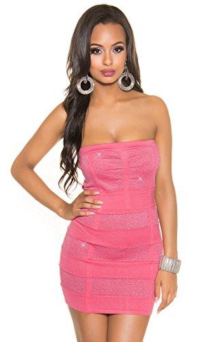 Robe Angies Fashion Femme Glamour Corail Uwvw8F