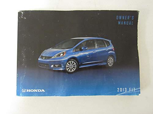 2013 Honda Fit Owners Manual (Fit Honda Manual)
