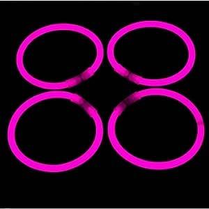 La Vida en Led 100 Pulseras Luminosas Glow Pack Fiesta Entrega 1-3 DÍAS (Rosa): Amazon.es: Deportes y aire libre