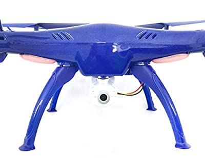 Syma X5SW-1 FPV HD Camera Drone with Real Time Transmission in Exclusive Blue design with extra battery X5SW by Syma