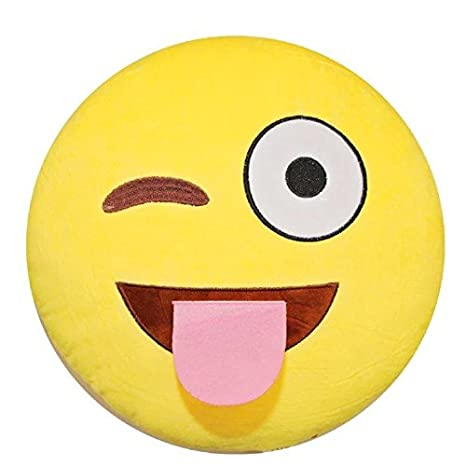 Amazon.com: Stuffed Cute Plush Emoji almohada por Funky ...