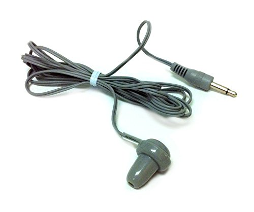 IDENC ER-6 Transistor Radio Single Ear Mono Earbud 10 Pack