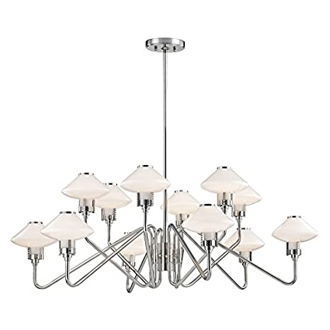 Amazon.com: Hudson Valley lighting9112-agb 12-Light ...