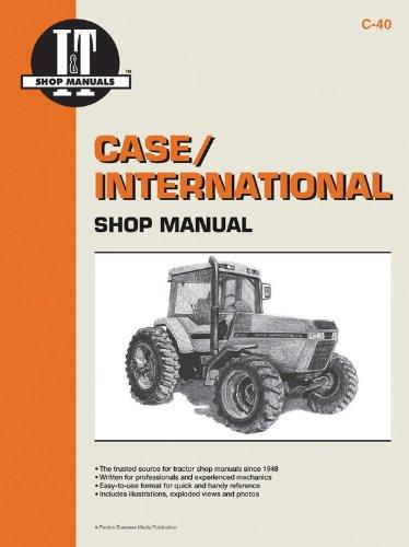 I&t Shop Manual Case - Case/International Shop Manual Models 7110 7120 7130 &7140 (I & T Shop Service)