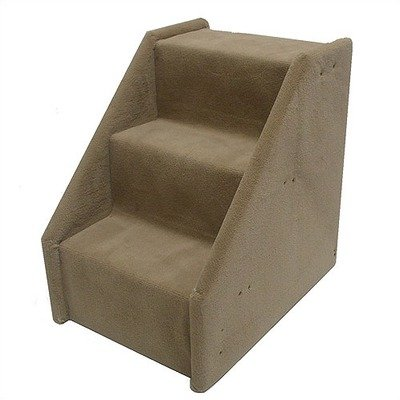 Bear's Stairs Three-Step Mini Value Line Pet Stairs in Beige Color: Beige, My Pet Supplies