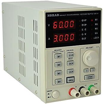 Amazon Com Korad Kd3005d Precision Variable Adjustable 30v 5a Dc Linear Power