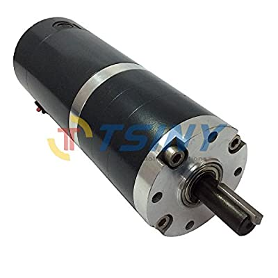 TSINY High Quality Gx60 Dia 60mm 24v Low 300 Rpm Dc Planetary Gear Motor High Torque Dc Brushed Motor for Robotics and Agricultural Equipment