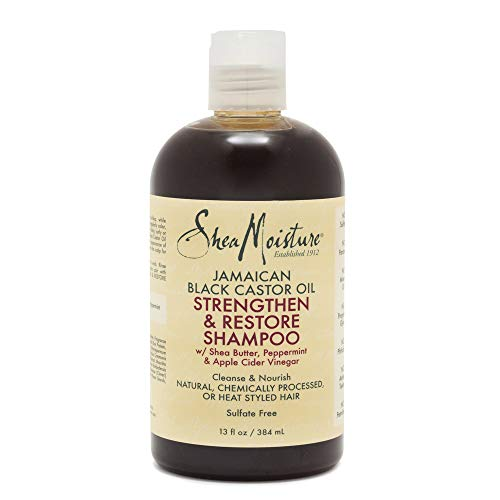 SheaMoisture Jamaican Black Castor Oil Strengthen & Restore for Damaged Hair Shampoo shampoo for Damaged Hair 13 oz