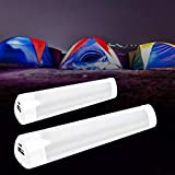 LED Tube Magnetic Light Emergency Light Sticks Portable Work Light OutdoorUSBRechargeableHandheldFlashlightEmergencyLightTube