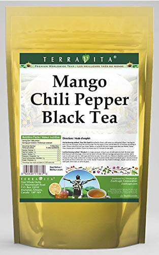 - Mango Chili Pepper Black Tea (25 Tea Bags, ZIN: 545652)