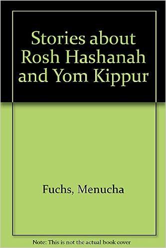 Stories About Rosh Hashanah And Yom Kippur 9781880582657 Amazon
