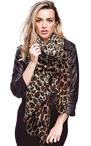 CCFW Oversized Leopard Wrap Shawl Scarf (Leopard) ()