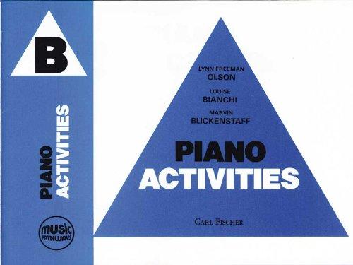 Olson Music Pathways - O5108 - Piano Activities - B