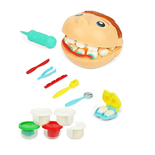 Liobaba Doctor Kit for Kids,Doctor Tools Dentist Medical Pretend Play Set,Doctor Role Play Costume Dress Up School Classroom Educational Toy for Girls & Boys -
