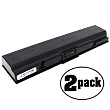 2-Pack Replacement Battery for Toshiba Satellite L500D Laptop - Compatible Toshiba Satellite L500D Laptop Battery