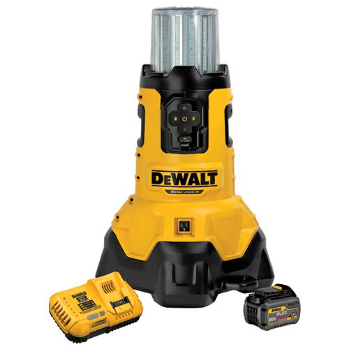 - DEWALT DCL070T1 20V MAX FLEXVOLT Bluetooth LED Area Light Kit